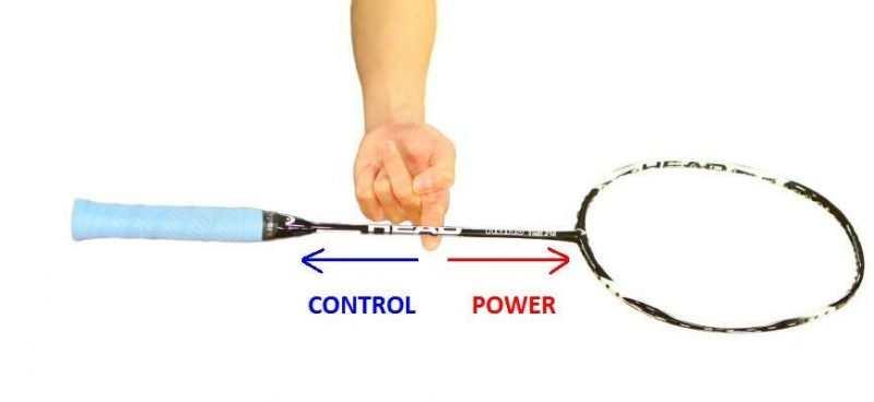 Điểm cân bằng vợt cầu lông