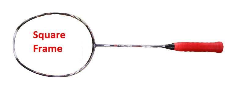 vợt cầu lông mặt vuông