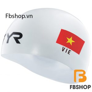 Hình ảnh tổng quan Mũ bơi TYR Blade racing cap Vietnam