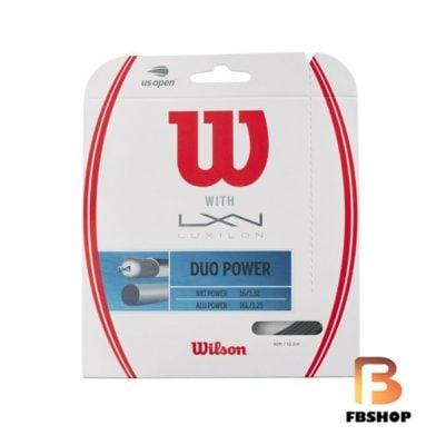 Dây cước tennis Wilson Duo Power Hybrid Set